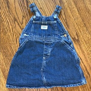 Osh Kosh Denim Overall Dress